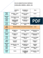 EXÁMENES FEB-MARZO TECNICATURA 2014