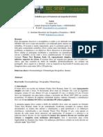 Normas para publicação  III SEGEO