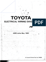 AE86 Corolla GT Electricalò Wiring Diagrams EUR&AUS