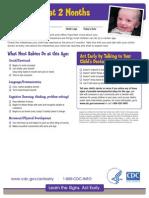 cdc developmental checklist
