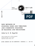 New Methods of Studying Noise and Vibration and Cybernetic Diagnosis of Machines and Mechanisms