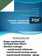 Power Point Kategori Murid Khas (Pengenalan Inklusif)[1] (1)