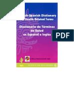 Diccionario de Terminos de Salud en Espanol e Ingles