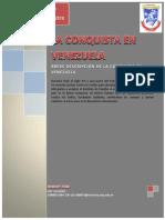 ENSAYO - La Conquista en Venezuela