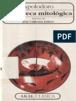 Apolodoro Biblioteca Mitologica