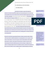 CD Essay II - 2000 Words