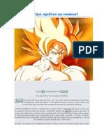 Dragon Ball - Qué significan sus nombres