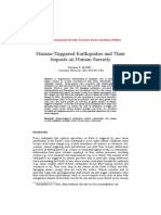 !Human-Triggered Earthquakes and Their Impacts on Human Security-NATO