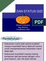 Prof..Wiryatun Nutrisi Dan Status Gizi