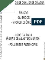 Legislacao Qualidade Agua Parametros