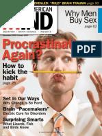 Sciam MIND Procrastinating