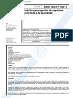 Nbr 10014 Abnt Iso Tr 10014 - Diretrizes