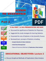 Intro to Statistics Part II