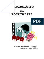 vocabulário do roteirista ptpt