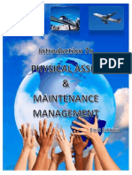 Introduction to Physical Asset and Maintenance Management