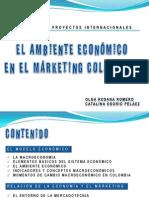 EL AMBIENTE ECONÓMICO EN EL MÁRKETING COLOMBIANO