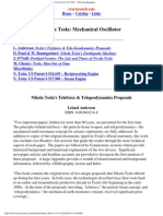eBook - English -- Nikola Tesla Unique Patents