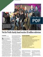 Suburban rockers help raise $1M for charity