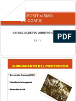 El Positivismo de Comte