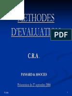 Les_méthodes_d'évaluation_-_Présentation_CRA