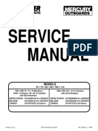mercury service manual piston ignition system outboard manual 70 75 80 90 100 115