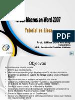 Crear Macros en Word 2007