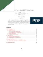 LaTex Document Sharing on Github Tutorial