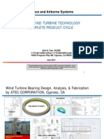 Wind Turbine Complete Product Cycle at Atec