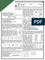 Andr Villar - Lista 01 Medicina - Aula 01- Eletrizao e Aula 02 - Fora de Coulomb