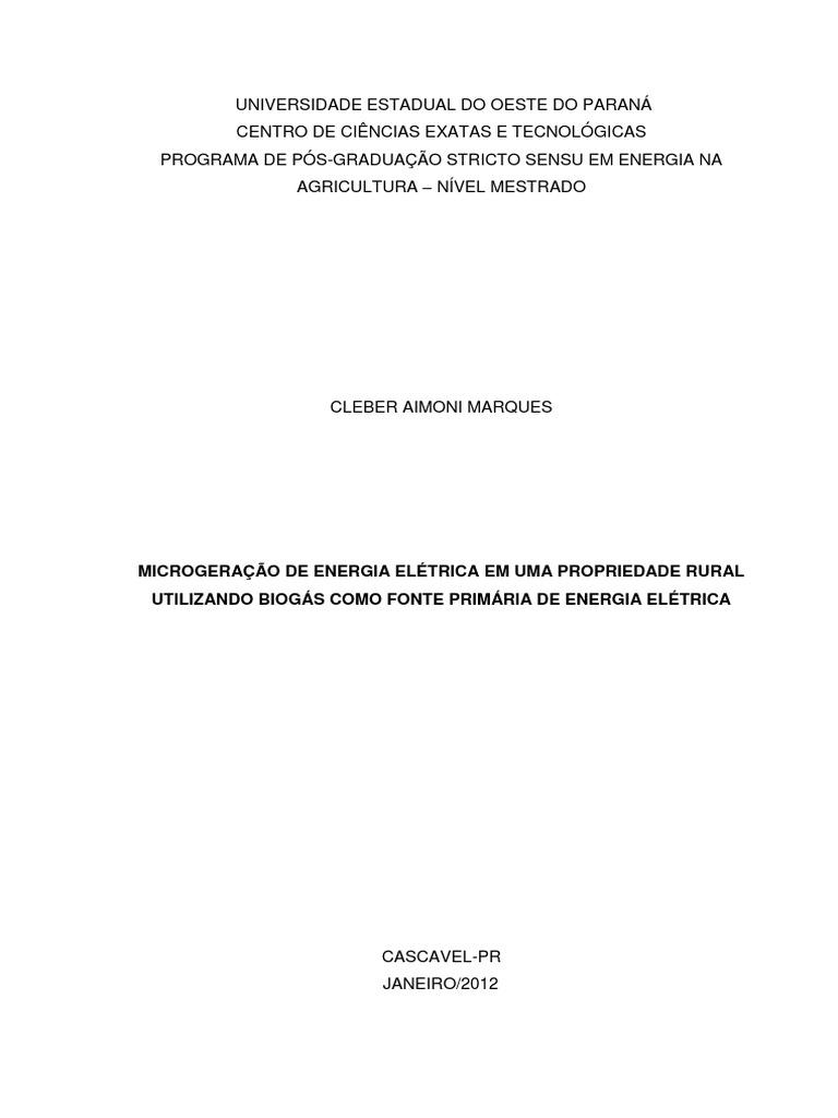 25bef2e2f18 MICROGERAÇÃO DE ENERGIA ELÉTRICA EM UMA PROPRIEDADE ...