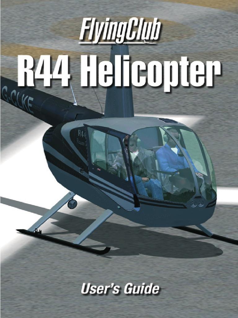 R44 Manual | Transponder (Aeronautics) | Helicopter