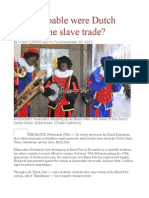 How Culpable Were Dutch Jews in the Slave Trade