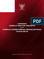 Laporan Kinerja Industri Dan Kinerja Kemenperin 2012