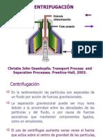 Ingeniería II - Centrifugación 2014 Niv