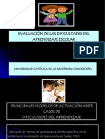 Dificultades de Aprendizaje.ppt Clase II 2010
