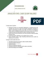 Analisis Caso Juan Valdez 3