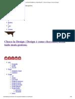 Como criar um Painel Semântico ou _Mood Board__ - Choco la Design _ Choco la Design