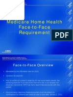 Medicare Home Health Face to Face Requirement Powerpoint