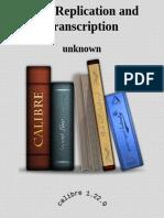 DNA Replication and Transcripti - Unknown