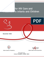 4- Guidelines for HIV Care and Treatment in Infants and Children