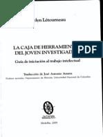 2.2 Létuorneaur (Realizar un trabajo de investigación un procedimiento en cuatro etapa) Cap. 10