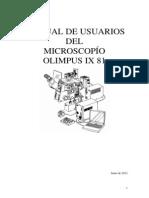 Manejo Del Microscopio Olympus 26062012
