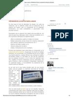 Análisis químico_ PREPARACIÓN DE LA MUESTRA PARA EL ANÁLISIS
