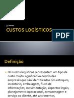 logística de custos