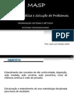 MASP - analise e solução de problemas