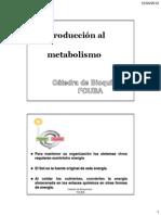 clase9introduccionalmetabolismo2012