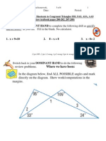 2010-2011 _HONORS_ Lesson 4.4-5 Triangle Congruency Shortcuts