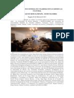 Firma de Convenio u.murcia-rudecolombia