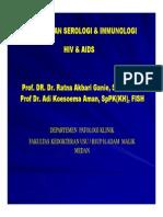 Slide Pemeriksaan Serologi Immunologi Hiv Aids