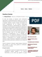 Desactivar El Fascismo - Por_ Roland Denis
